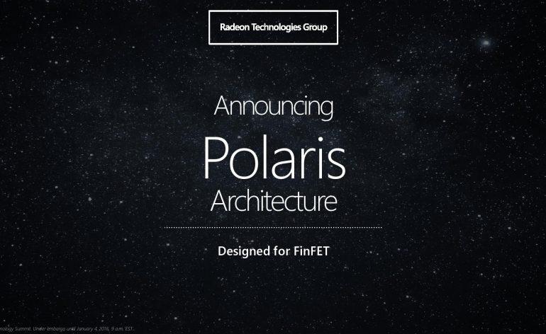 Polaris - les nouvelles cartes graphiques de chez AMD