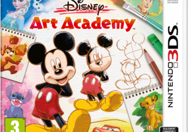 Disney Art Academy cover / jaquette