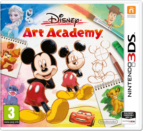 Disney Art Academy cover / jaquette