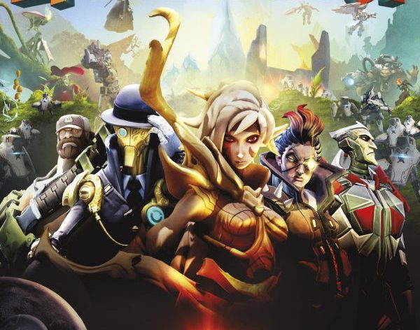 Jaquette Battleborn PC