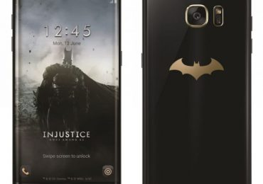 Galaxy S7 Edge Batman édition