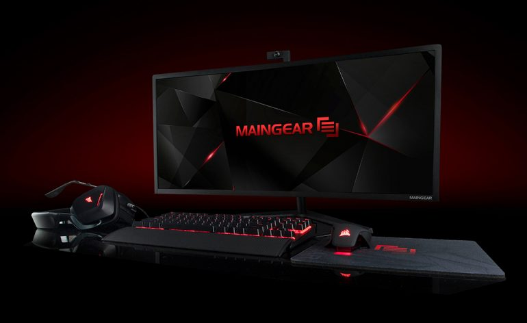 "Maingear Alpha 34 - Le PC All-In-One 34"" incurvé"