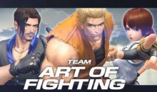 King of Fighters 14 : Art of Fighting impact !