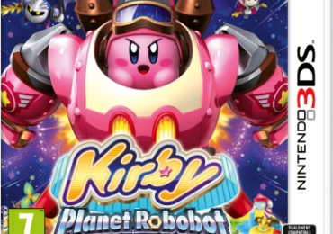 Test, jaquette Kirby Planet Robobot