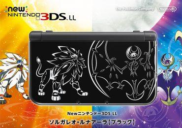 3DS XK édition pokémon luna et soleil