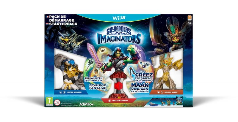 Skylanders Imaginators wii u