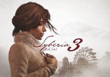 syberia 3 e3 2016 trailer