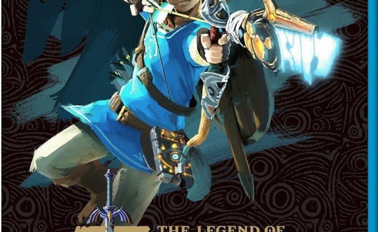 Cover, jaquette de The Legend of Zelda Breath of the Wild.