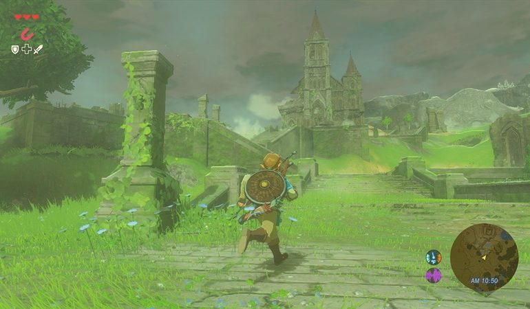 Zelda Breath of the Wild sur Wii U et NX
