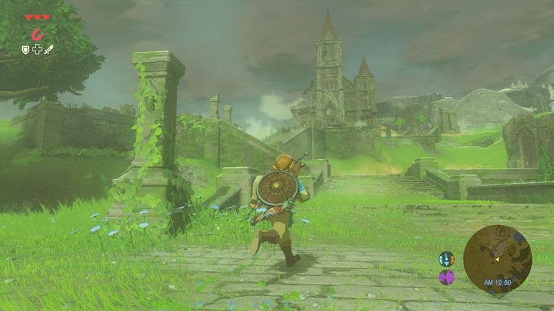 Zelda Breath of the Wild sur Wii U et NX