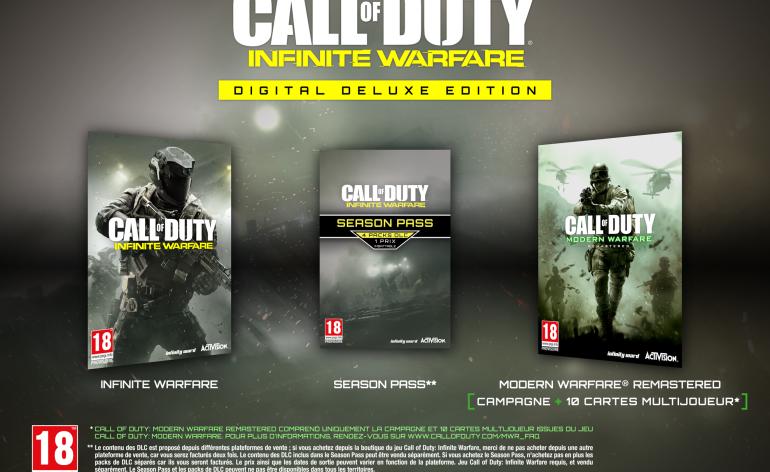 Modern Warfare remasterisée
