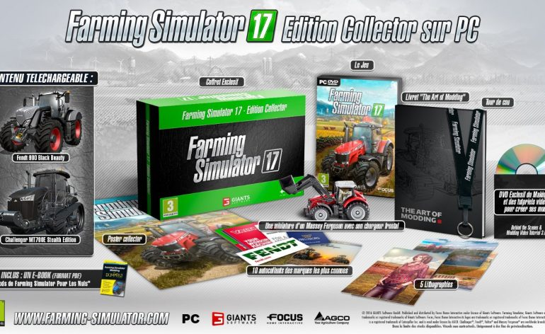 Farming Simulator 17, contenu édition collector