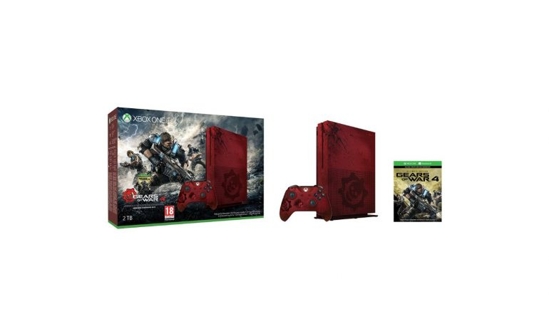 Nouveau pack Xbox One S gears of war 4