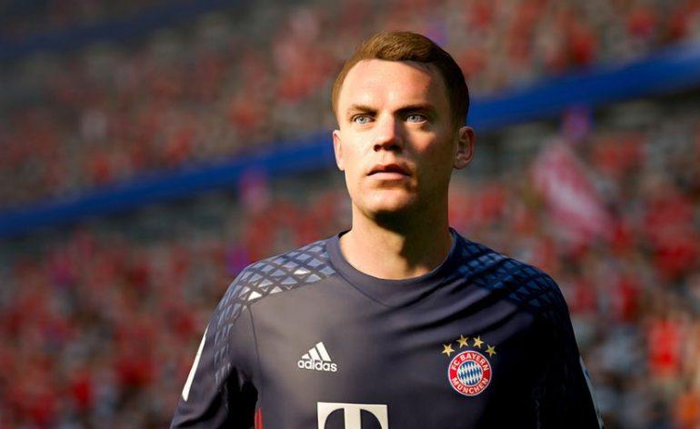 FIFA 17 note joueurs Neuer