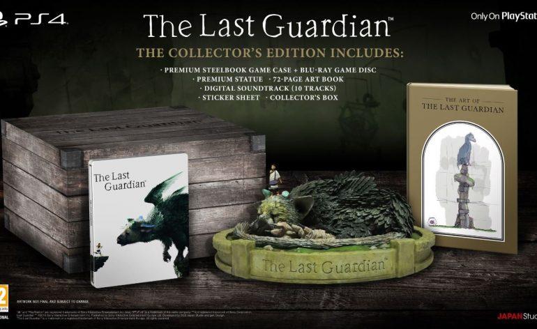 Contenu de l'édition collector de The Last Guardian