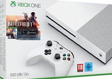 Précommande du pack Xbox One S Battlefield 1