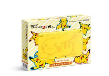 console New 3DS XL Pikachu Pokémon