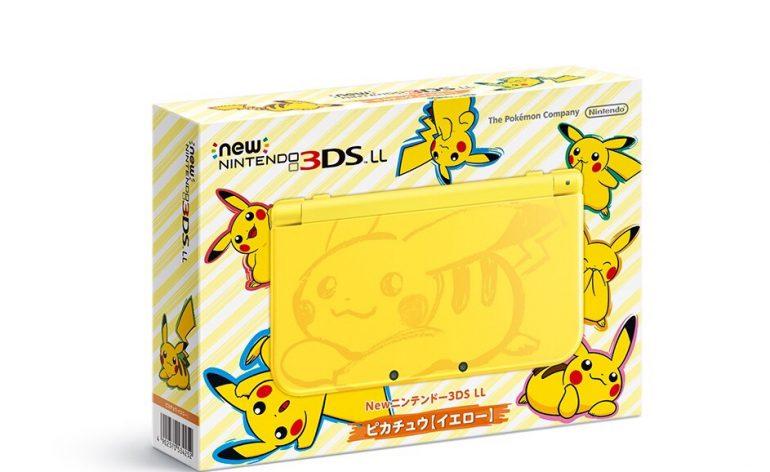 console New 3DS XL Pikachu Pokémon