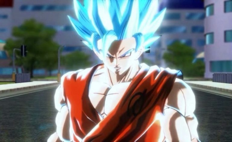 Xenoverse 2 Super Saiyan Blue