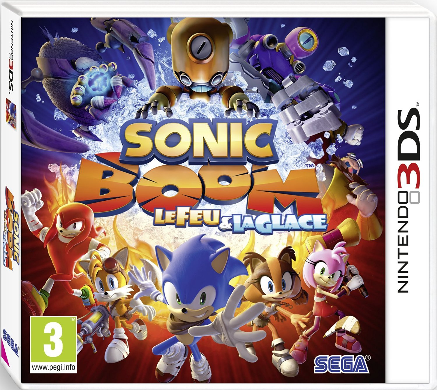 test sonic boom le feu et la glace sur 3ds le mag jeux high tech. Black Bedroom Furniture Sets. Home Design Ideas