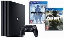 Pack PS4 Pro : avec FIFA 17 ou Infinite Warfare chez Amazon