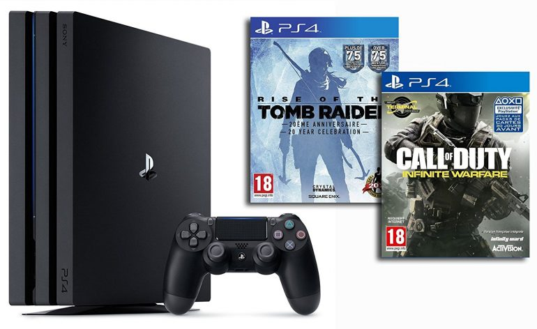 PS4 Pro pack bundle