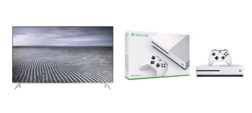 un pack xbox one s et tv 4k samsung prix cass chez fnac. Black Bedroom Furniture Sets. Home Design Ideas