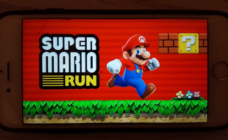Super mario Run iphone 6s