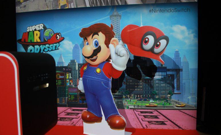 Mario Odyssey Switch