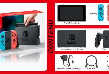 Nintendo Switch baisse de prix