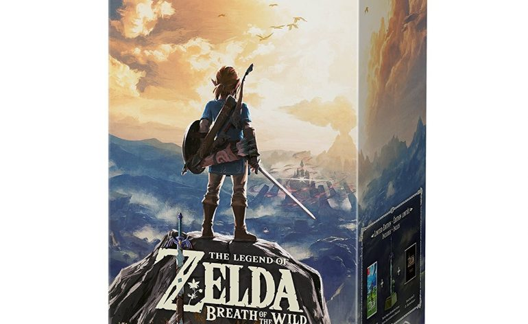 Zelda Breath of the Wild cover switch