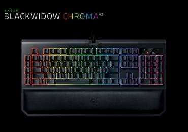 Razer présente son clavier mécanique Blackwidow Chroma V2