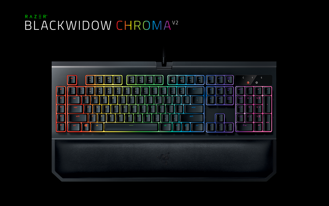 razer pr sente son clavier m canique blackwidow chroma v2 le mag jeux high tech. Black Bedroom Furniture Sets. Home Design Ideas