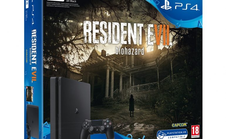 Nouveau pack PS4 slim RE7