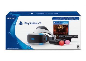 PlayStation VR : la pochette du casque