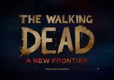 test walking dead a new frontier