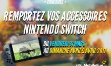 Gagnez vos accessoires Switch Nintendo ! [Concours]