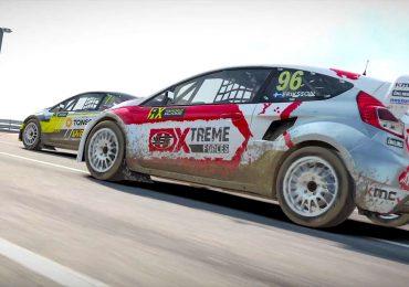 DiRT 4 trailer rallycross