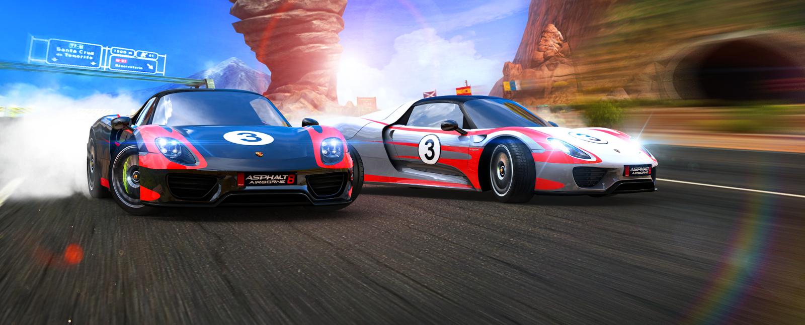 porsche en force dans asphalt 8 airborne le mag jeux high tech. Black Bedroom Furniture Sets. Home Design Ideas