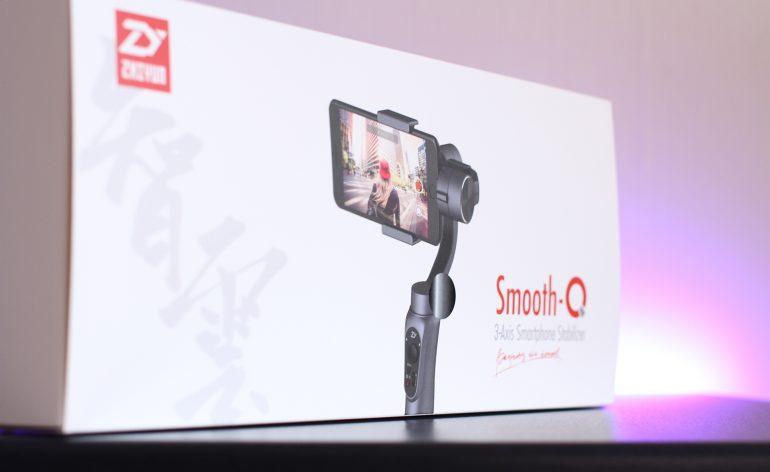 Zhiyun Smooth-Q : un stabilisateur pour smartphone