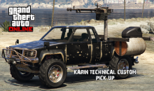 Le Pick-up armé Karin disponible dans GTA Online