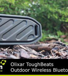 Test de l'Enceinte Bluetooth Olixar ToughBeats Exterieur
