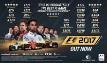 F1 2017 enfin disponible sur PC et consoles !