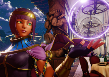 Street Fighter V: Menat un personnage original