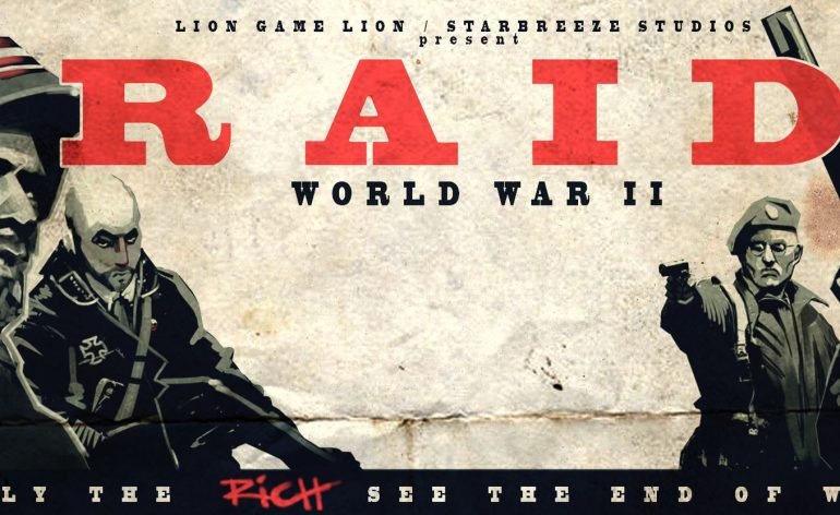 RAID: World War II date de sortie