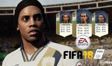 RONALDINHO parmi les icônes FUT de FIFA 18