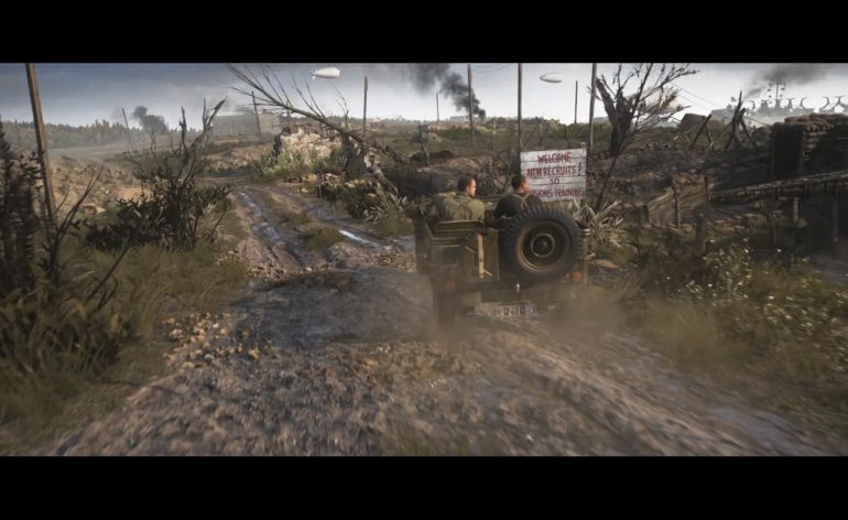 Call of Duty WWII Preview