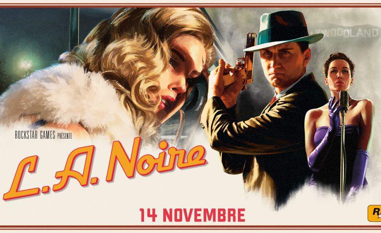L.A Noire PS4 Switch