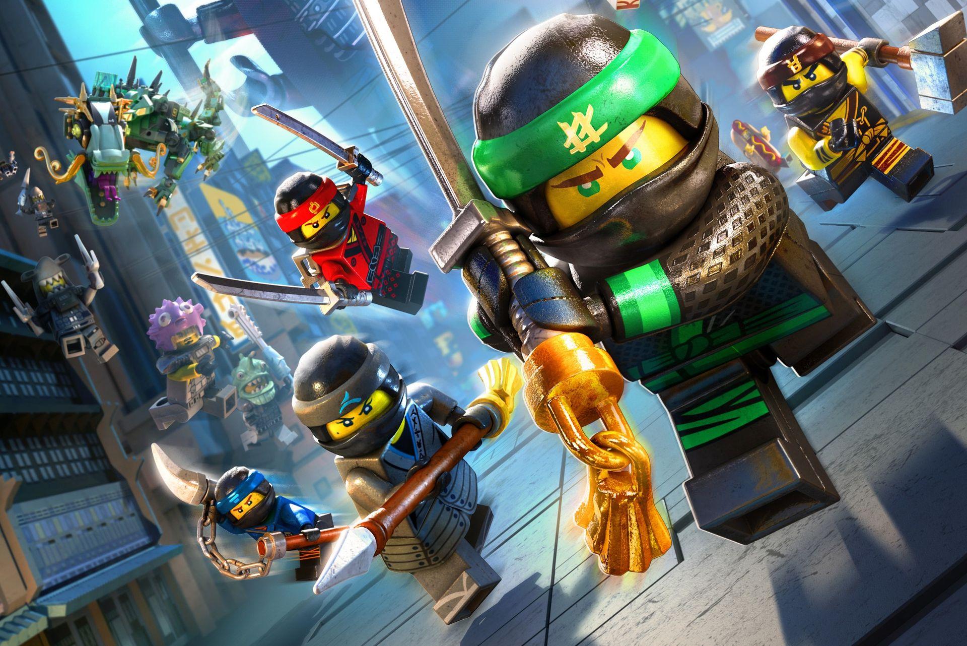 Lego ninjago le film le jeu vid o d sormais disponible - Jeu lego ninjago gratuit ...