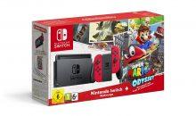 Réapprovisionnement et réduction sur le pack Switch Mario Odyssey